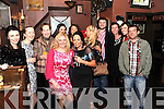 HAPPY HOLIDAYS: Staff members from Dream Ireland, Kenmare pictured on their Christmas outing in Crowley's Pub, Kenmare on Friday.