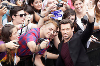 "Australian actor Hugh Jackman posses in the photocall of the ""Prisioners"" film presentation during the 61 San Sebastian Film Festival, in San Sebastian, Spain. September 27, 2013. (ALTERPHOTOS/Victor Blanco)"