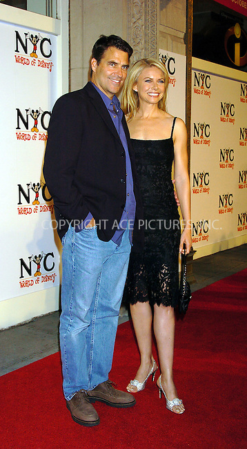 WWW.ACEPIXS.COM . . . . .  ....NEW YORK, OCTOBER 4, 2004....Ted McGinley and Faith Ford attending the grand opening of the World of Disney Flagship Store.....Please byline: AJ Sokalner - ACE PICTURES..... *** ***..Ace Pictures, Inc:  ..Alecsey Boldeskul (646) 267-6913 ..Philip Vaughan (646) 769-0430..e-mail: info@acepixs.com..web: http://www.acepixs.com