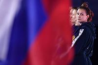 Team Russia  , PROKOFYEVA Ekaterina (C)<br /> Budapest 12/01/2020 Duna Arena <br /> SLOVAKIA (white caps) Vs. RUSSIA (blue caps)<br /> XXXIV LEN European Water Polo Championships 2020<br /> Photo  © Andrea Staccioli / Deepbluemedia / Insidefoto