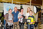 Smiles Against Cancer,which is an idea by Photographer Tara Donoghue from Glenbeigh Fundraiser and awareness about cancer support services available at Recovery Haven, held at Manor West Retail Park on Sunday Pictured .l-r  Rhianna Evans,Recovery Haven, Kenneth Reynolds, Recovery Haven, Tara Donoghue,Tara Donoghue Photography.