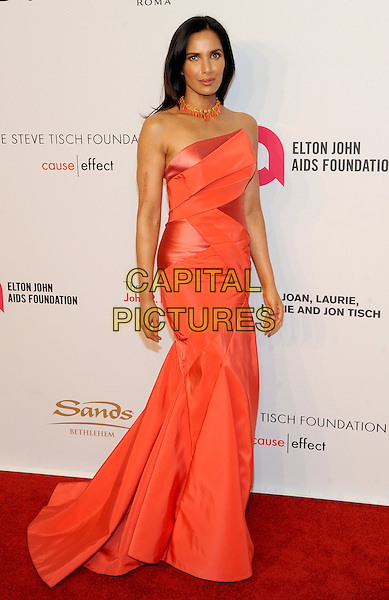 NEW YORK, NY - NOVEMBER 02: Padma Lakshmi attends 15th Annual Elton John AIDS Foundation An Enduring Vision Benefit at Cipriani Wall Street on November 2, 2016 in New York City.<br /> CAP/MPI/JP<br /> &copy;JP/MPI/Capital Pictures