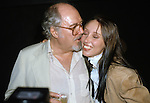 Shelley Duvall and Robert Altman pictured in New York City on November 4, 1981.
