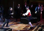 "Norm Lewis and Tony Yazbeck and cast performing during the MCP Production of ""The Scarlet Pimpernel"" Concert at the David Geffen Hall on February 18, 2019 in New York City."