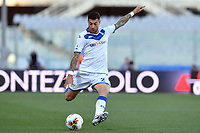 Stefano Sabelli of Brescia Calcio in action during the Serie A football match between ACF Fiorentina and Brescia Calcio at Artemio Franchi stadium in Florence ( Italy ), June 22th, 2020. Play resumes behind closed doors following the outbreak of the coronavirus disease. <br /> Photo Antonietta Baldassarre / Insidefoto