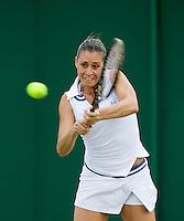 25-6-08, England, Wimbledon, Tennis, Pennetta