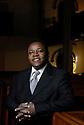 January 17, 2007--Rev. Evrol Officer of Christ Church Unity in Brookline, Massachusetts. PHOTO BY JODI HILTON