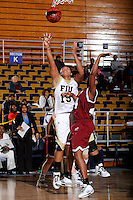 9 January 2010:  FIU's Marquita Adley (15) shoots in the second half as the Troy Trojans defeated the FIU Golden Panthers, 61-59, at the U.S. Century Bank Arena in Miami, Florida.