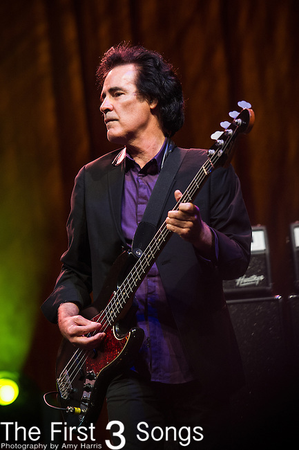 Ron Blair of Tom Petty and the Heartbreakers performs during Day 2 of the 2013 Firefly Music Festival in Dover, Delaware.