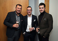 Pictured: Ben Donovan (C) and Jack Wells (R)<br />