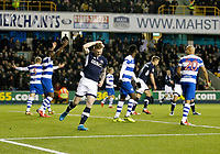 Aiden O'Brien of Millwall sees a chance missed during the Sky Bet Championship match between Millwall and Queens Park Rangers at The Den, London, England on 29 December 2017. Photo by Carlton Myrie / PRiME Media Images.
