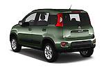 Car pictures of rear three quarter view of 2016 Fiat Panda-4X4 Pop 5 Door Hatchback Angular Rear