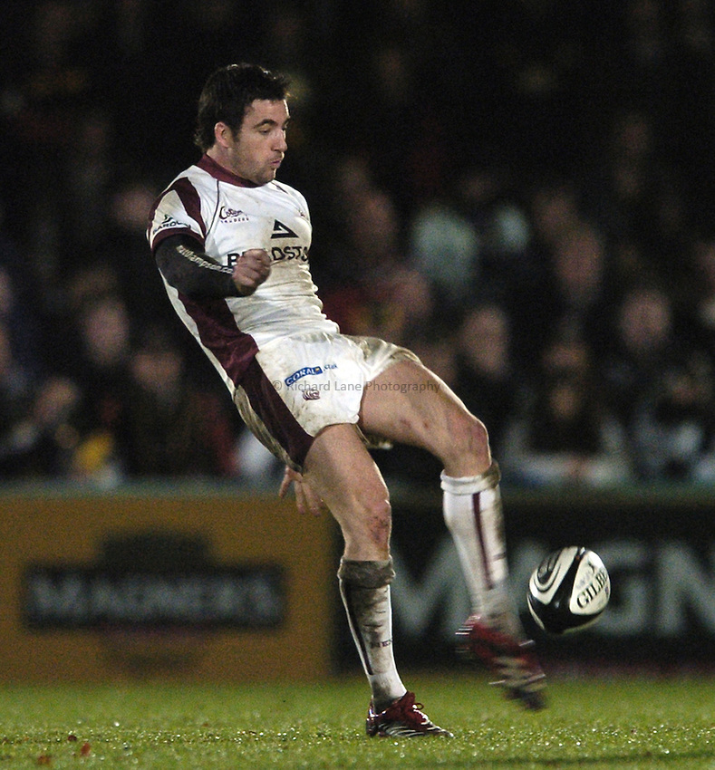 Photo: Jonathan Butler..London Wasps v Leicester Tigers. Guinness Premiership. 26/11/2006..Ian Humphreys of Leicester.