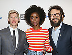 Lucas Steele, Denee Benton and Josh Groban attends the 83rd Annual Drama League Awards Ceremony  at Marriott Marquis Times Square on May 19, 2017 in New York City.