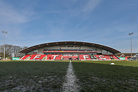 General view ahead of the Sky Bet League 1 match between Fleetwood Town and MK Dons at Highbury Stadium, Fleetwood, England on 24 February 2018. Photo by David Horn / PRiME Media Images
