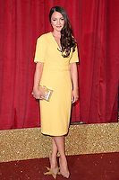 Lacey Turner<br /> arrives for the British Soap Awards 2016 at Hackney Empire, London.<br /> <br /> <br /> &copy;Ash Knotek  D3124  28/05/2016