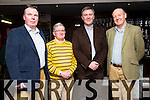 At the Kerry Assoc London and Tralee Chamber Alliance informal networking event at the Abbey Inn on Saturday were Nigel Crowe Kane, Crowe Kavanagh Tralee, Joe Mannix,  Mannix & Co, Cllr Graham Spring, Dermot O'Grady, Ardent Tide Ltd London
