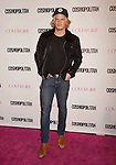 WEST HOLLYWOOD, CA - OCTOBER 12: Singer Cody Simpson arrives at Cosmopolitan Magazine's 50th Birthday Celebration at Ysabel on October 12, 2015 in West Hollywood, California.