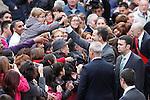 Prince Felipe of Spain visits Caspe village on November 7, 2012 in Alcaniz, Teruel, Spain.(ALTERPHOTOS/Harry S. Stamper)