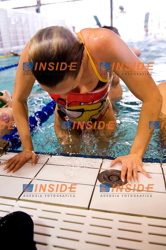 Federica Pellegrini .Riccione 10/04/2013 .Campionati Italiani Assoluti Nuoto Primaverili 2013.Foto Andrea Staccioli Insidefoto