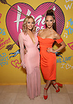 Samantha Pollino and Amber Ardolino attends the Opening Night Performance After Party for  'Head Over Heels' at Gustavino's  on July 26, 2018 in New York City.