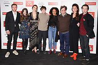 Joe Bannister, Philippa Coulthard, Hayley Atwell, Alex Lawther, Rozalind Eleazar, Kenneth Longergan, Bessie Carter and Joe Quinn<br /> at the &quot;Howard's End&quot; screening held at the BFI NFT South Bank, London<br /> <br /> <br /> &copy;Ash Knotek  D3343  01/11/2017