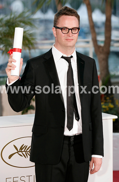 **ALL ROUND PICTURES FROM SOLARPIX.COM**                                             **UK AND SPAIN SYNDICATION RIGHTS ONLY**                                                                                  Caption: Golden Globe awards winner´s photocall at the  64th Cannes Film Festival in France.                                                                              This pic: Nicholas Winding Refn                                                                                             JOB REF:13418        CPR/Heinz       DATE:23.05.2011                                                          **MUST CREDIT SOLARPIX.COM OR DOUBLE FEE WILL BE CHARGED**                                                                      **MUST AGREE FEE BEFORE ONLINE USAGE**                               **CALL US ON: +34 952 811 768 or LOW RATE FROM UK 0844 617 7637**