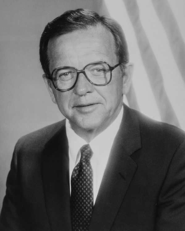 Portrait of Sen. Ted Stevens, R-Alaska, on Aug. 12, 1983. (Photo by CQ Roll Call via Getty Images)