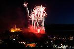 Virgin Money Fireworks Concert, photographed for The Edinburgh International Festival.