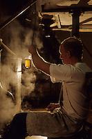 Europe/Belgique/Région de Bruxelles-Capitale/Bruxelles : Brasserie Gueuze Cantillon - Empatage du malt et du froment