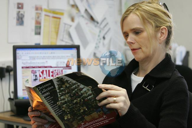 Lulu O'Sullivan from Gifts Direct.com in Dublin..Photo: Fran Caffrey/ Newsfile.