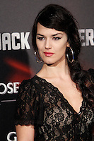 Sara Vega attends the 'Jack Reacher' premiere at the Callao cinema in Madrid, Spain. December 13, 2012. (ALTERPHOTOS/Caro Marin) /NortePhoto