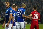 19.12.2017, Veltins-Arena , Gelsenkirchen, GER, DFB Pokal Achtelfinale, FC Schalke 04 vs 1. FC K&ouml;ln<br /> , <br /> <br /> im Bild | pictures shows:<br /> Naldo (FC Schalke 04 #29) mit Salih Oezcan (1.FC Koeln #20), <br /> <br /> Foto &copy; nordphoto / Rauch