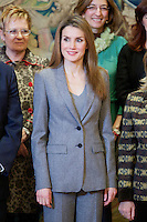 Spain's Princess Letizia during audiences