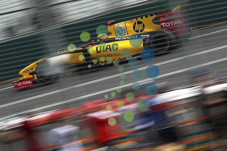 F1 GP of Australia, Melbourne 26. - 28. March 2010.Robert Kubica (POL), Renault F1 Team ..Picture: Hasan Bratic/Universal News And Sport (Scotland).
