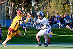 Rancho Santa Margarita, CA 04/30/10 - Garrett Parsons (Santa Margarita #16) and Lucas Gradinger (Torrey Pines #6) in action during the Rancho Santa Margarita CHS-Torrey Pines boys varsity lacrosse game. in action during the Rancho Santa Margarita CHS-Torrey Pines boys varsity lacrosse game.