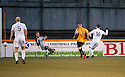 Ayr Utd's David Winters finds himself through on Alloa keeper Scott Bain but knocks his shot wide.