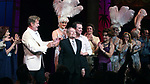 """Kelsey Grammer, Douglas Hodge, Jerry Herman, Christine Andreas<br />during the Broadway Opening Night Performance Curtain Call for  """"La Cage Aux Folles""""  at the Longacre Theatre in New York City.<br />April 18, 2010"""