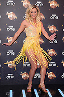 "Faye Tozer<br /> at the launch of ""Strictly Come Dancing"" 2018, BBC Broadcasting House, London<br /> <br /> ©Ash Knotek  D3426  27/08/2018"