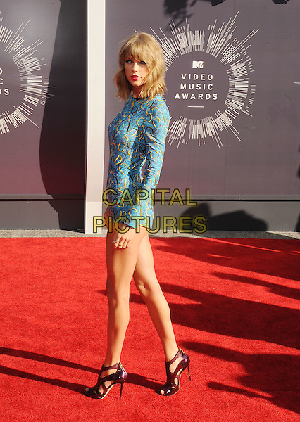 INGLEWOOD, CA- AUGUST 24: Singer Taylor Swift attends the 2014 MTV Video Music Awards at The Forum on August 24, 2014 in Inglewood, California.<br /> CAP/ROT/TM<br /> &copy;Tony Michaels/Roth Stock/Capital Pictures