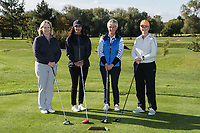 From left are Kim Oscroft, Karen Sandhu, Kirsten Hardiker and Gail McManus of Team Buckles