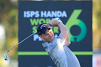 Danny Willett (ENG) in action on the 10th during Round 2 of the ISPS Handa World Super 6 Perth at Lake Karrinyup Country Club on the Friday 9th February 2018.<br /> Picture:  Thos Caffrey / www.golffile.ie<br /> <br /> All photo usage must carry mandatory copyright credit (&copy; Golffile | Thos Caffrey)