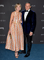LOS ANGELES, USA. November 03, 2019: Robert Iger & Willow Bay at the LACMA 2019 Art+Film Gala at the LA County Museum of Art.<br /> Picture: Paul Smith/Featureflash