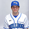 Joe Barbuto of North Babylon poses for a portrait during Newsday's varsity baseball season preview photo shoot at company headquarters on Saturday, March 18, 2017.