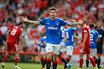 05.08.18 Aberdeen v Rangers: Windass appeals to linesman after penalty