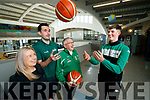 Daire Kennelly who has been selected for the Irish U-16 Basketball team with Mounthawk School Coaches Lyndsey Moriarty, Asst Coach John Dowling, Head Coach and Jimmy Digits, Asst Coach.