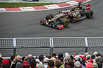 Lotus F1 Team driver Kimi Raikkonen of Finland speeds his E20 car during the F1 Grand Prix du Canada at the Circuit Gilles-Villeneuve on June 08, 2012 in Montreal, Canada. Photo by Victor Fraile / The Power of Sport Images