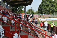 Fans during Stevenage vs Tranmere Rovers, Sky Bet EFL League 2 Football at the Lamex Stadium on 4th August 2018