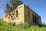 Israel, Shephelah, the old villa in Maresha forest
