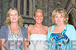 Enjoying the Memorable Melodies concert in St Stephen and John church Castleisland on Sunday evening l-r: Monica Murphy, Joanne Casey and Peggy McCarron....
